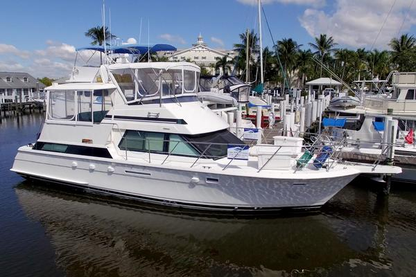 42-ft-Hatteras-1994-42 Cockpit Motor Yacht-Harbor View Too Punta Rassa Florida United States  yacht for sale