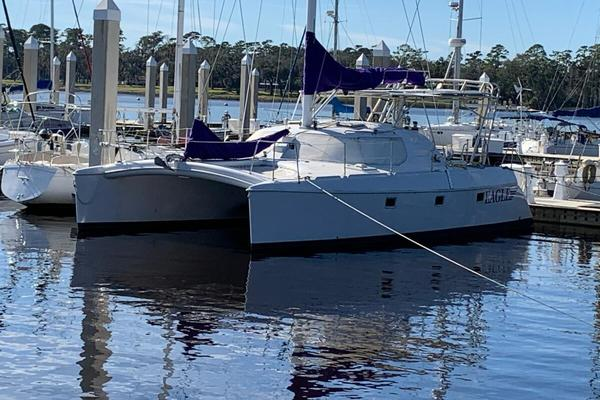 40-ft-Manta-1997-40 Sail Cat-Eagle Jacksonville Florida United States  yacht for sale