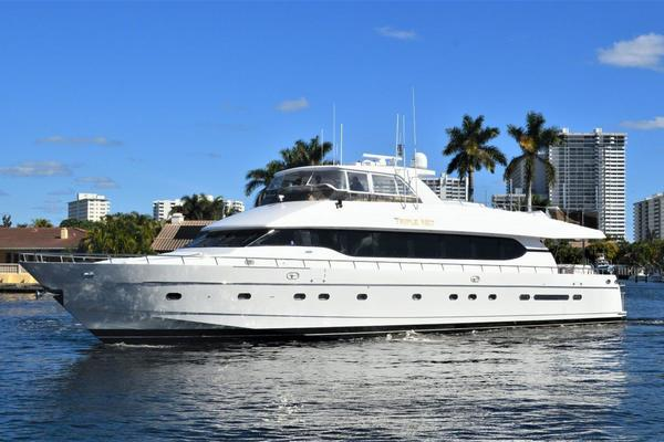 92-ft-Monte Fino-2001--Triple Net Fort Lauderdale Florida United States  yacht for sale