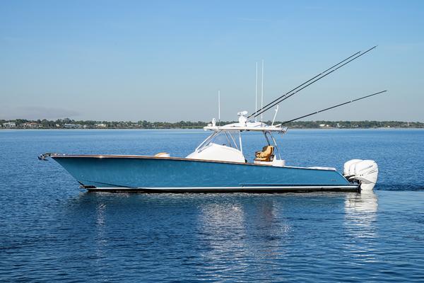 38-ft-Winter Custom Yachts-2018-38 Custom Carolina-RICOCHET Stuart Florida United States  yacht for sale