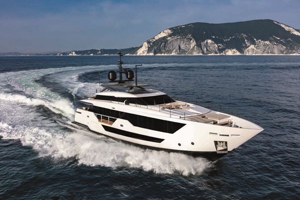 106-ft-Ferretti Yachts-2020-Custom Line 106-FALCON CA Fort Lauderdale Florida United States  yacht for sale