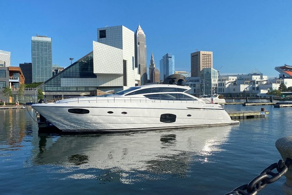 62-ft-Pershing-2020-Express-Roxy Fort Lauderdale Florida United States  yacht for sale