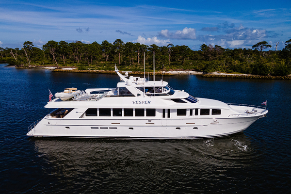 100' Hatteras Raised Pilothouse 2002 | Vesper