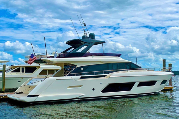 67-ft-Ferretti Yachts-2020-670-L'abeille Ft. Lauderdale Florida United States  yacht for sale