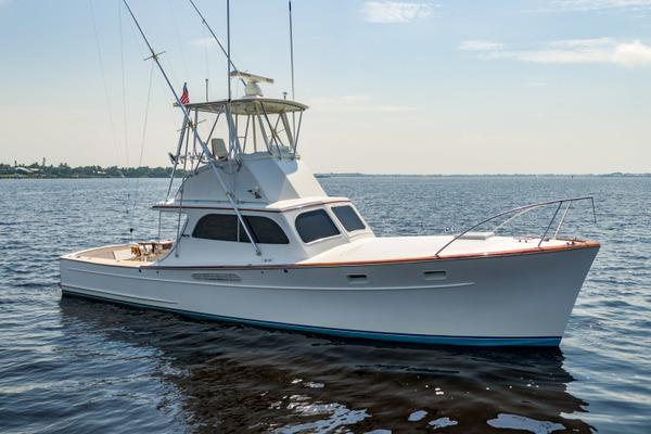 37-ft-Merritt-1967-Sportfish-ANDIAMO Stuart Florida United States  yacht for sale