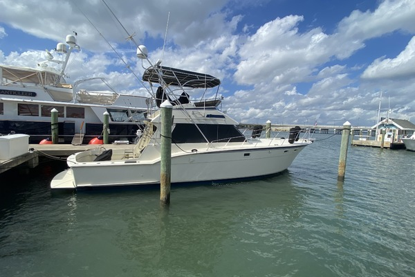 45-ft-Hatteras-1986-Sport Fish Convertible- Stuart Florida United States  yacht for sale