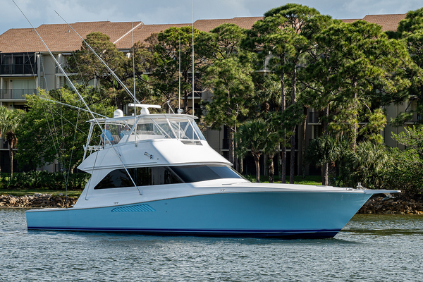 55' Viking 55 Convertible 1998 | Goldrush