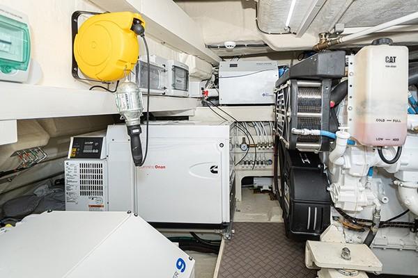 Engine Room - Generator and Watermaker