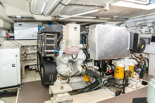 Engine Room - Port Engine