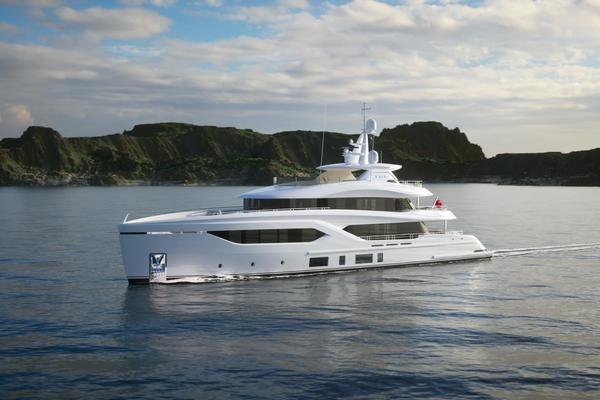145-ft-Conrad-2023-C144S-Conrad C144S Hull 2 Gdansk  Poland  yacht for sale
