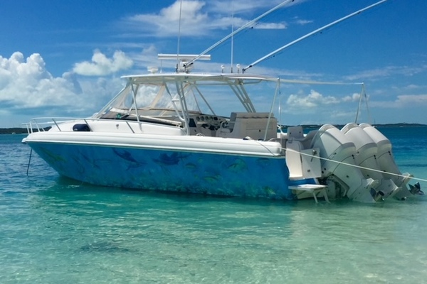 37-ft-Intrepid-2003-377 Walkaround-Island Lure  Florida United States  yacht for sale
