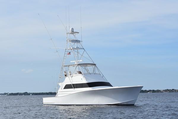 53-ft-Monterey-1989-Custom Sportfish-BACK  'N DOWN Stuart Florida United States  yacht for sale