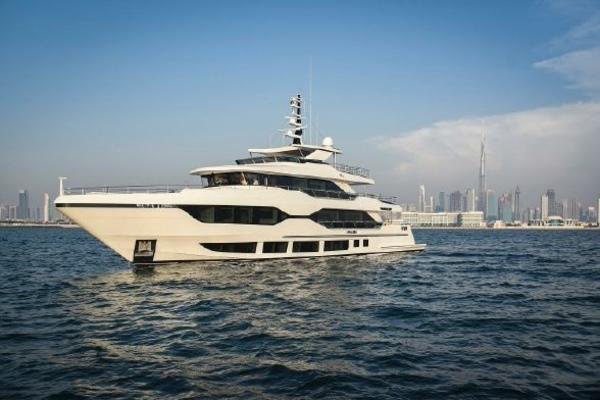 122' Majesty Yachts  2022