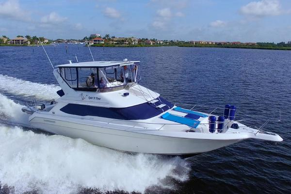44-ft-Sea Ray-1995-440 Express Bridge-Quit N Time Palmetto Florida United States  yacht for sale