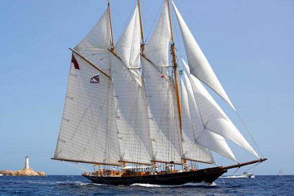 178-ft-Townsend & Downey-1902-Classic-SHENANDOAH OF SARK Palma de Mallorca  Spain  yacht for sale