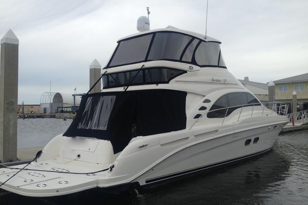 58-ft-Sea Ray-2005-550 Sedan Bridge-First Light Fort Lauderdale Florida United States  yacht for sale