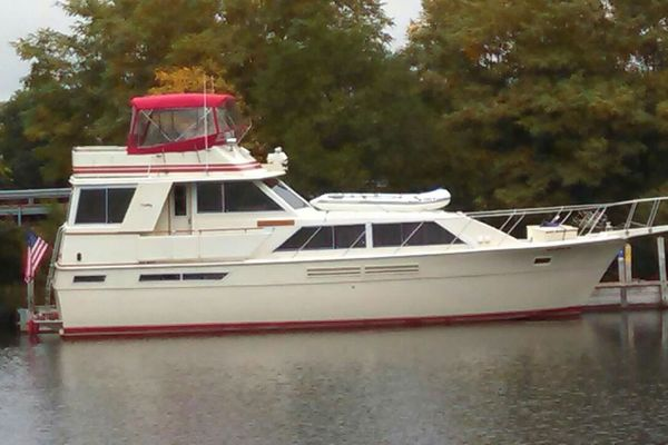 46-ft-Uniflite-1984--Tommy Boy Muskegon Michigan United States  yacht for sale