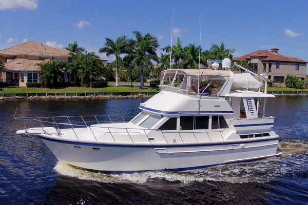 42-ft-Jefferson-1989-42 Sundeck Trawler-Wastin Time Two Palmetto Florida United States  yacht for sale