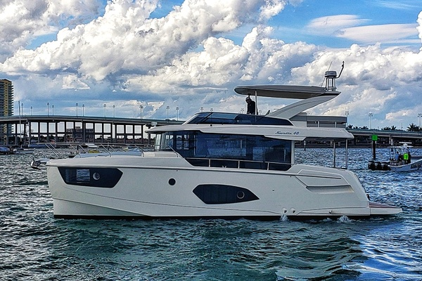 48-ft-Absolute-2021-Navetta 48-AOABR155I021 Miami Florida United States  yacht for sale