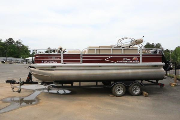 20-ft-Sun Tracker-2018-Fishing Barge 20 DLX- Buford Georgia United States  yacht for sale