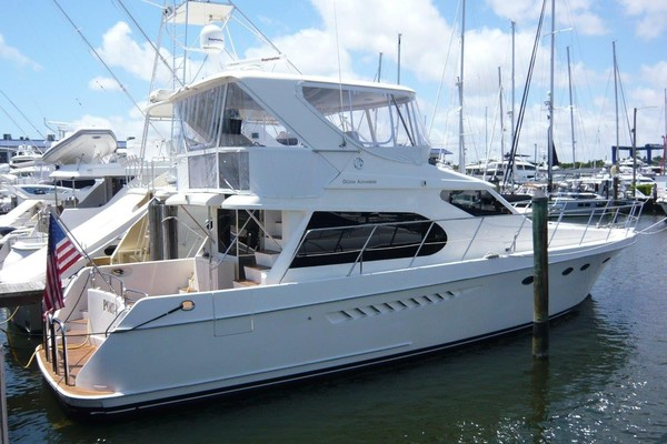 52-ft-Ocean Alexander-2007-Sedan-Port Folio Dania Beach Florida United States  yacht for sale
