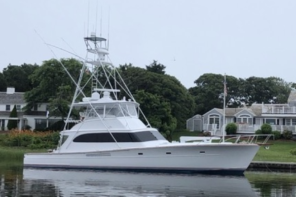 63-ft-Merritt-1989-Sportfish-WYCHMERE Pompano Beach Florida United States  yacht for sale