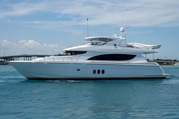 80-ft-Hatteras-2006--Lucy Palm Beach Shores Florida United States  yacht for sale
