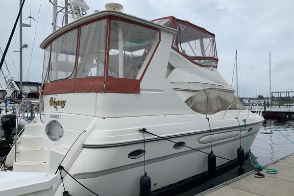 41-ft-Maxum-1998-4100 SCA-Odyssey Abaco  Bahamas  yacht for sale