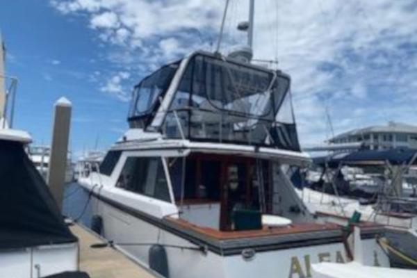 42-ft-Ocean Alexander-1987-420 Sport Sedan- Jacksonville Florida United States  yacht for sale