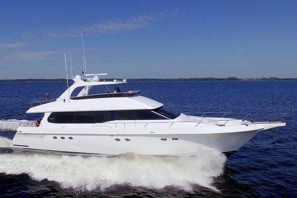 76-ft-Lazzara-1995-76 GRAND SALON-Christmas Spirit Fort Myers Florida United States  yacht for sale