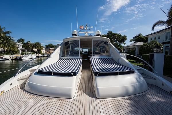 Princess Viking Sport Crusier 65 - Small Change - Aft Deck