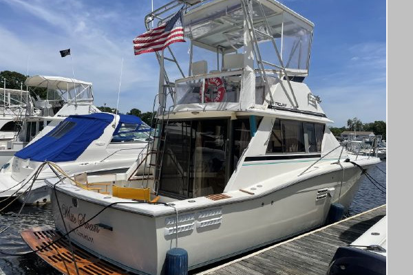 36-ft-Trojan-1988-F36-White Swan Old Saybrook Connecticut United States  yacht for sale