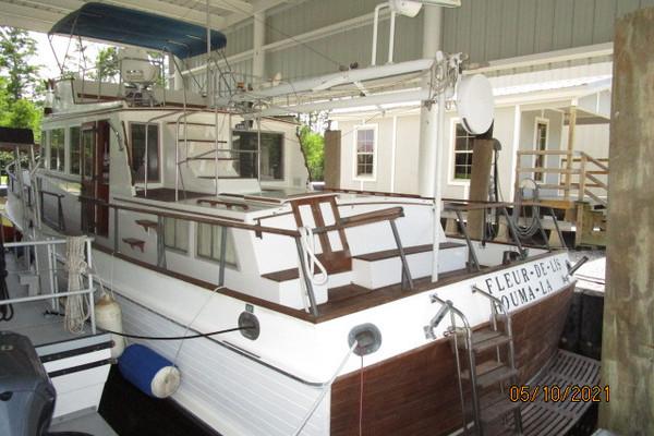 "49-ft-Grand Banks-1982-""49"" Classic-Fleur De Lis Houma Louisiana United States  yacht for sale"