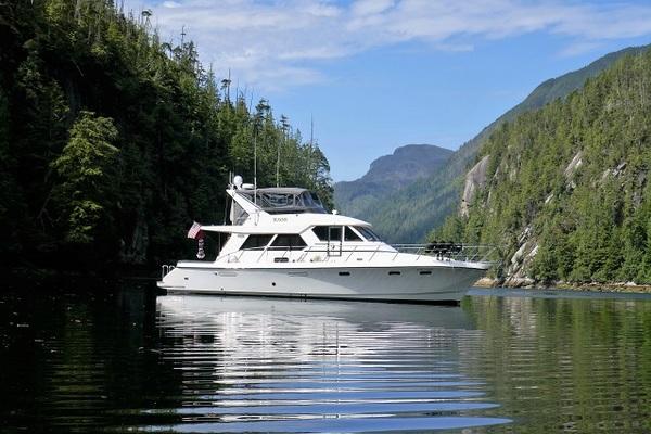 """55-ft-Symbol-1994-""""55"""" Pilothouse-Kaos Anacortes Washington United States  yacht for sale"""