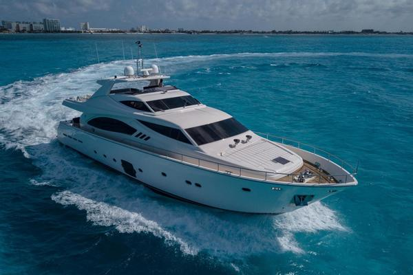 88-ft-Ferretti Yachts-2008-881-Fortis II Cancun  Mexico  yacht for sale