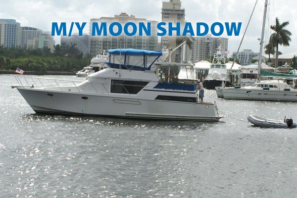 46-ft-Ocean Alexander-1987-46 Double Cabin-Moonshadow Hollywood Florida United States  yacht for sale