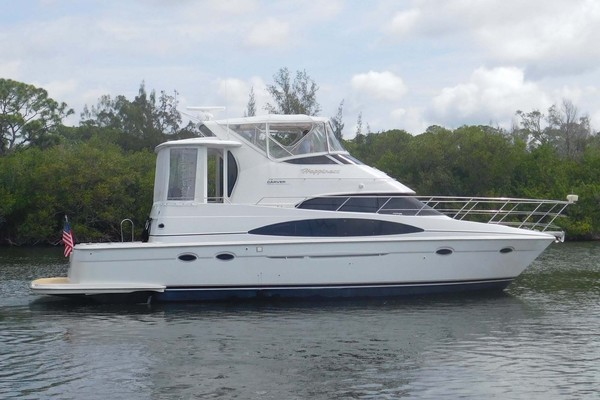 44-ft-Carver-2001-444 Cockpit Motor Yacht-Happiness Merritt Island Florida United States  yacht for sale
