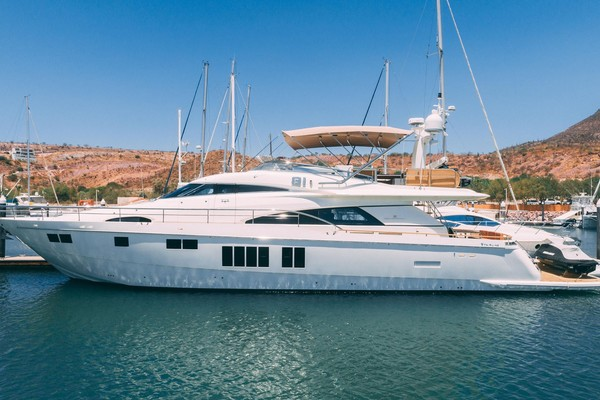 Picture Of a 2014 Fairline 78 Squadron Motor Yachts