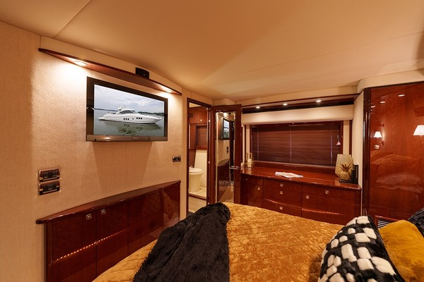 TV in the master stateroom