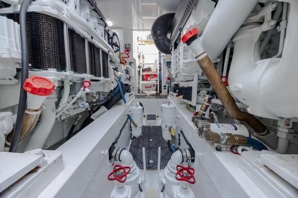 2019 Viking 44 Convertible  Engine Room 7
