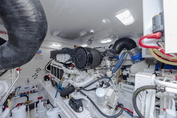 2019 Viking 44 Convertible  Engine Room 3