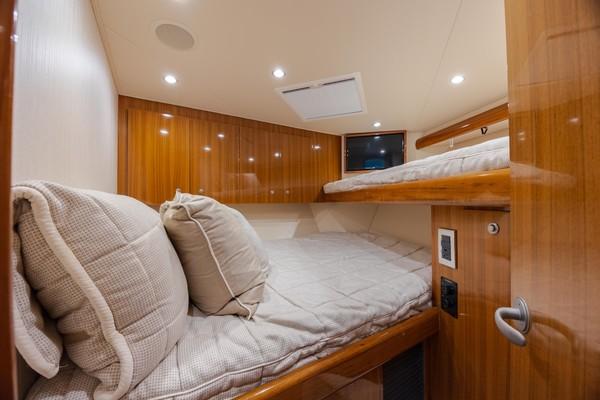 2019 Viking 44 Convertible  Forward Stateroom