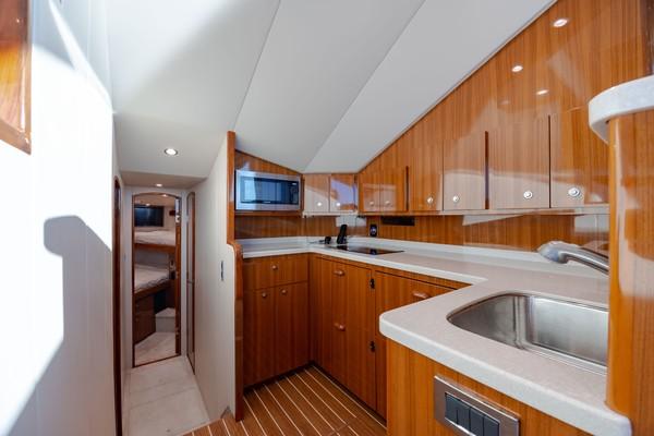 2019 Viking 44 Convertible  Galley