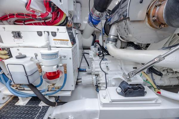 2019 Viking 44 Convertible  Engine Room 5