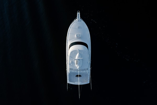 2019 Viking 44 Convertible  Aerial
