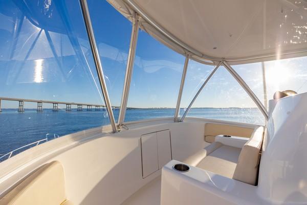 2019 Viking 44 Convertible  Flybridge Bow Seating