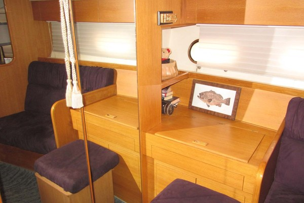 Master Stateroom Seating and Vanity