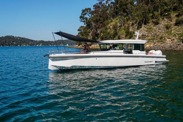 37-ft-Axopar-2022-37 XC CROSS CABIN- Palm Beach Florida United States  yacht for sale