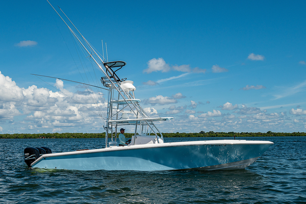 39-ft-Venture-2014-39 Center Console-Black and Blue North Palm Beach Florida United States  yacht for sale