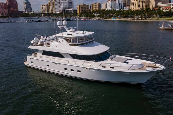 74-ft-Ocean Alexander-2011-Open Flybridge-Private Island West Palm Beach Florida United States  yacht for sale